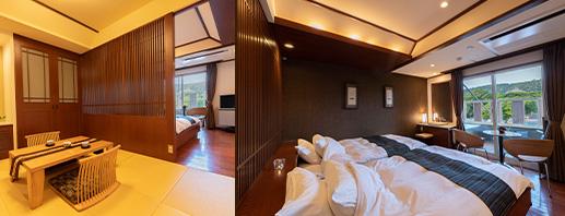 和洋室 露天風呂付客室